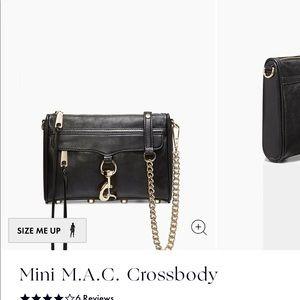 NEW Rebecca Minkoff Mini M.A.C. Crossbody Bag